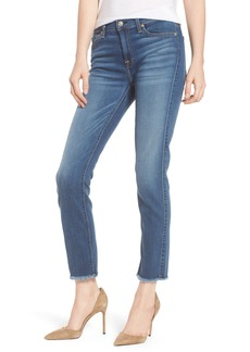 7 For All Mankind® b(air) Roxanne Ankle Straight Leg Jeans (Vintage Dusk)