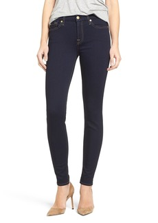 7 For All Mankind® 'b(air)' Skinny Jeans (Rinsed Indigo)