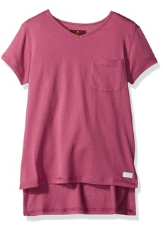 7 For All Mankind Big Girls' High Low T-Shirt
