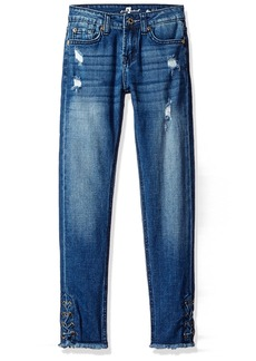 7 For All Mankind Big Girls' The Skinny Authentic Washed Jean