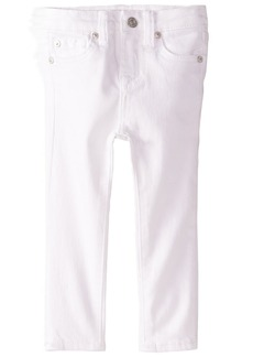 7 For All Mankind Big Girls The White Skinny Jean  14