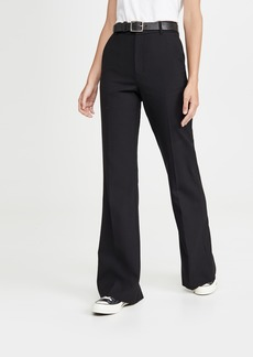 7 For All Mankind Bootcut Back Slit Trousers