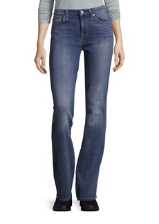 7 For All Mankind Bootcut Cotton-Blend Jeans