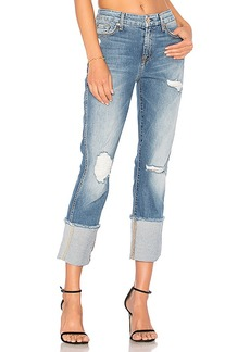 7 For All Mankind Boyfriend with Frayed Cuff. - size 24 (also in 25,26,27)
