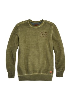 7 For All Mankind Boys' All Kinds Vintage-Wash Fleece Sweatshirt - Big Kid
