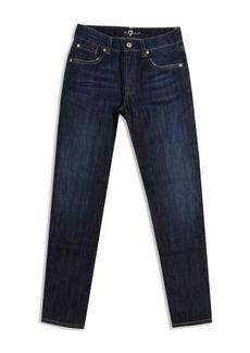 7 For All Mankind Boys' Slimmy Slim Straight Jeans - Big Kid
