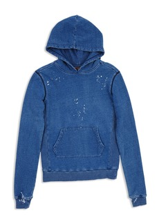 7 For All Mankind Boys' Splatter Paint Terry Hoodie - Big Kid
