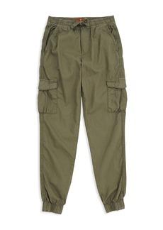 7 For All Mankind Boys' Vintage-Wash Cargo Jogger Pants - Big Kid