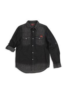 7 For All Mankind Boys' Western Denim Shirt - Big Kid