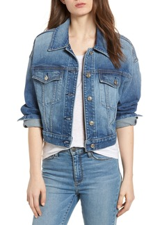 7 For All Mankind® Bubble Denim Jacket