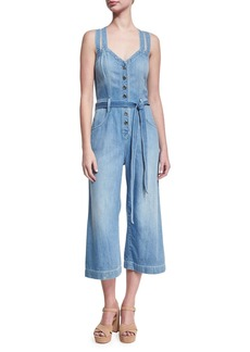 7 For All Mankind BUTTON FRONT PLAYSUIT