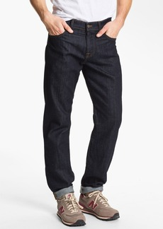 7 For All Mankind® 'Carsen' Easy Straight Leg Jeans (Dark Clean)