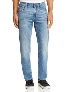 7 For All Mankind Carsen Homage Straight Fit Jeans in Light Wash