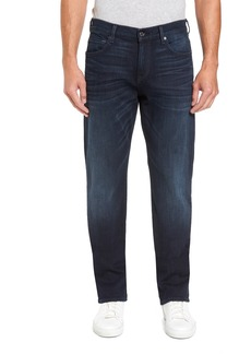 7 For All Mankind® Carsen Luxe Performance Straight Leg Jeans (Dark Current)