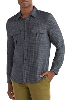 7 For All Mankind Classic Fit Plaid Shirt