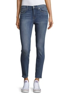 7 For All Mankind Cotton-Blend Ankle Jeans