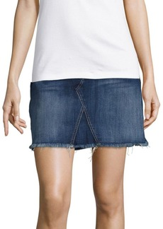 7 For All Mankind Cotton-Blend Skirt