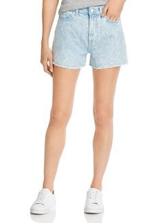 7 For All Mankind Cotton Cutoff Denim Shorts in Chelsea