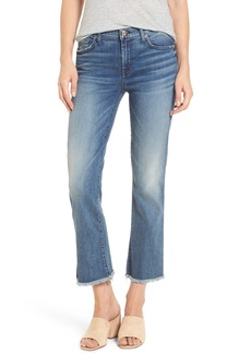 7 For All Mankind® Crop Bootcut Jeans (Wall Street Heritage)