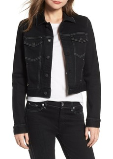7 For All Mankind Crop Denim Jacket