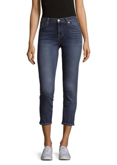 7 For All Mankind Crop Roxanne Jeans