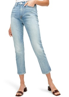 7 For All Mankind® Crop Straight Leg Jeans (Retro Ventura)