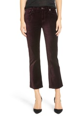7 For All Mankind® Crop Velvet Pants