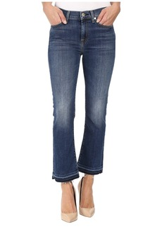 7 For All Mankind Cropped Boot w/ Distress & Released Hem in Manchester Square