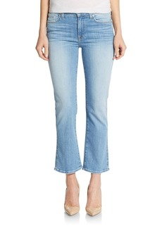 7 For All Mankind Cropped Bootcut Jeans