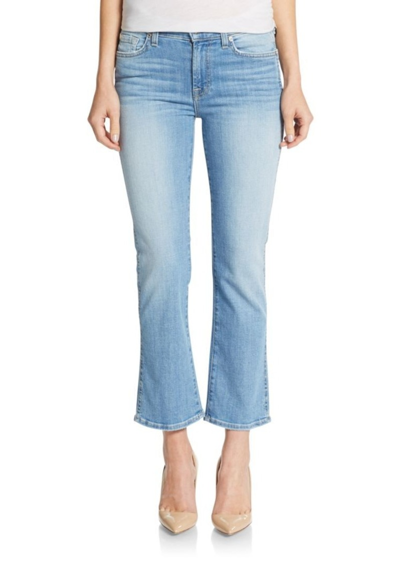 7 For All Mankind 7 For All Mankind Cropped Bootcut Jeans | Denim ...