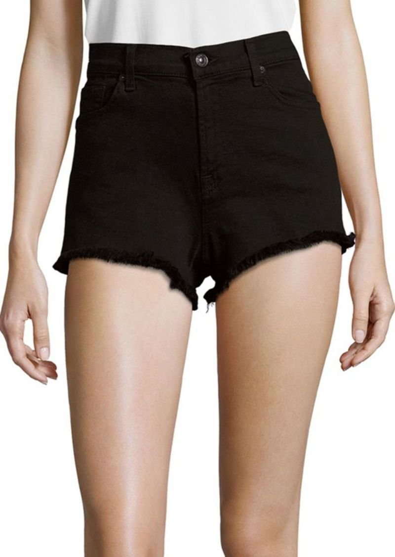7 For All Mankind High Rise Cut Off Shorts