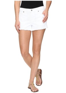 7 For All Mankind Cut Off Shorts in Clean White