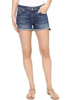 7 For All Mankind Cut Off Shorts w/ Step Hem in Bondi Beach