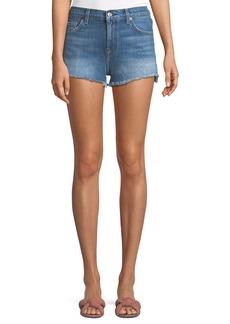 7 For All Mankind Cutoff Denim Shorts