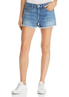 7 For All Mankind Cutoff Denim Shorts in Desert Oasis
