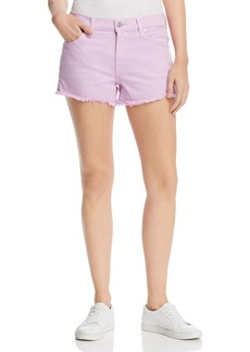 7 For All Mankind Cutoff Denim Shorts in Sweet Lilac