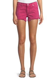 7 For All Mankind Cutoff Jean Shorts