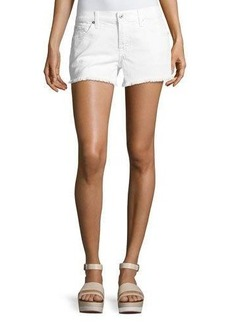 7 For All Mankind Cutoff Jean Shorts