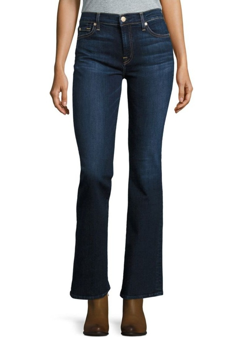 7 For All Mankind Tailorless Dark Wash Bootcut Jeans
