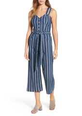7 For All Mankind® Denim Culotte Jumpsuit