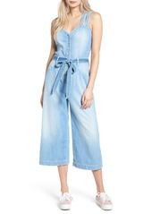 7 For All Mankind® Denim Culotte Jumpsuit (Luxe Lounge Coastal Blue)