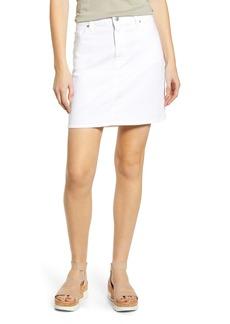 7 For All Mankind® Denim Miniskirt