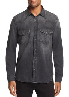 7 For All Mankind Denim Regular Fit Western Shirt