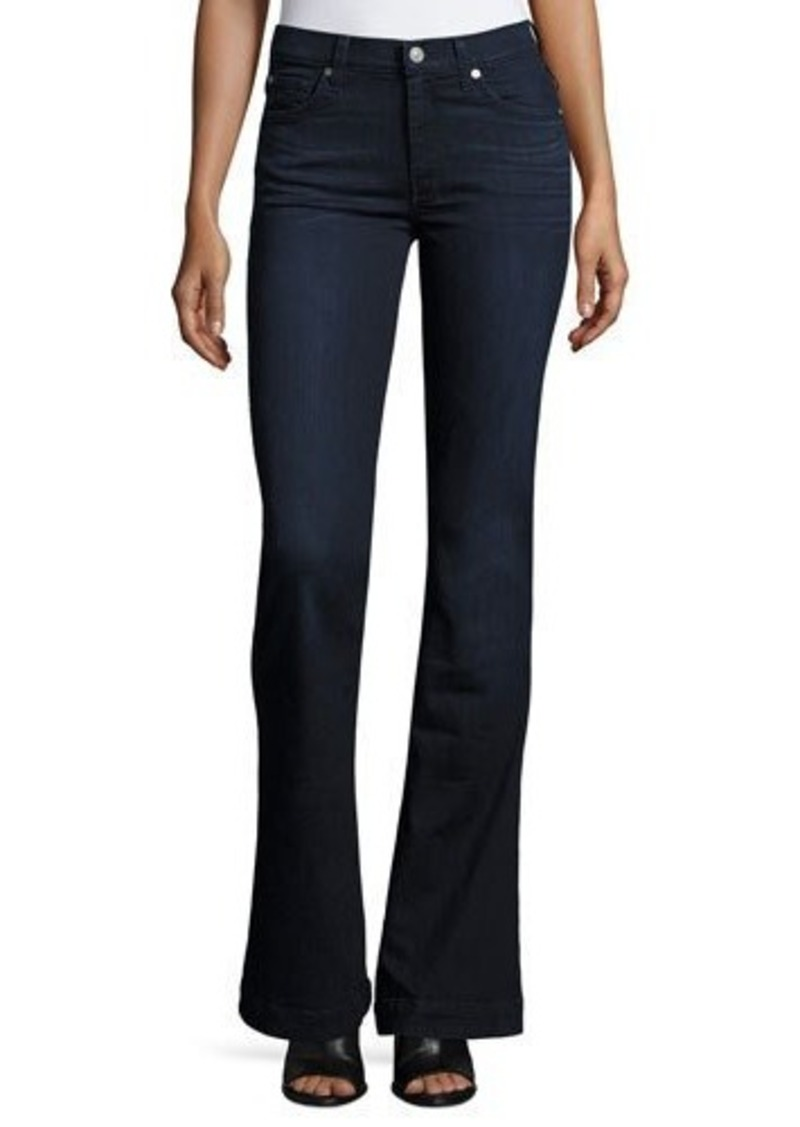 7 For All Mankind Denim Trouser Flare Jeans