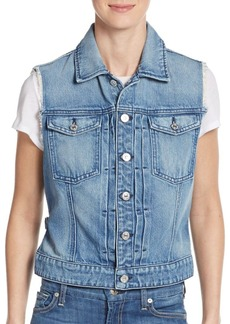 7 For All Mankind Denim Vest