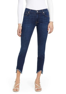 7 For All Mankind® Distressed Ankle Skinny Jeans (Fletcher Drive)