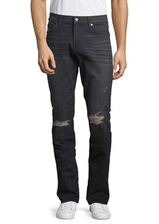 7 For All Mankind Slimmy Distressed Denim Jeans