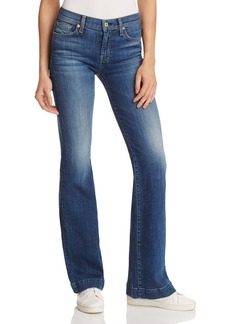 7 For All Mankind Dojo Flare Jeans in Manchester Square