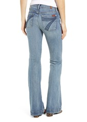 7 For All Mankind® Dojo Wide Leg Jeans (Authentic Fate)