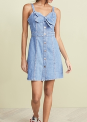7 For All Mankind Double Tie Dress